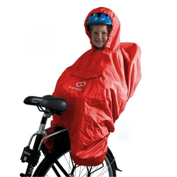Hamax child bike seat rain poncho