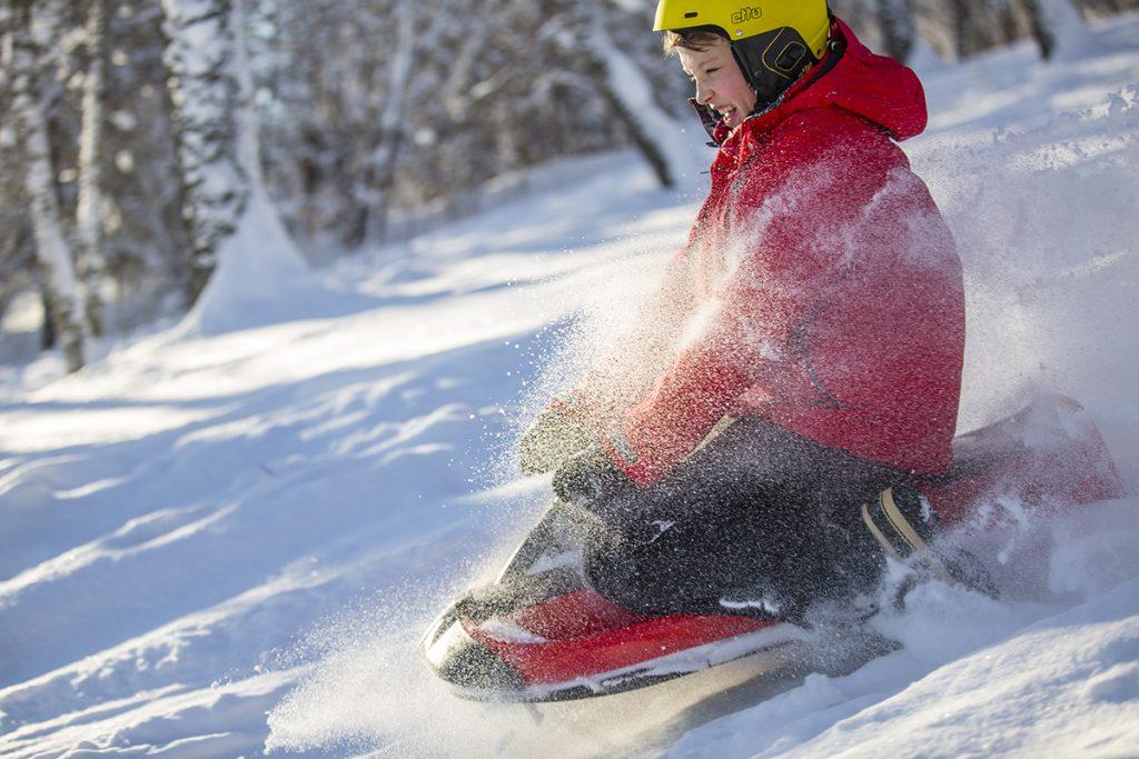 Hamax sno fire snow sled
