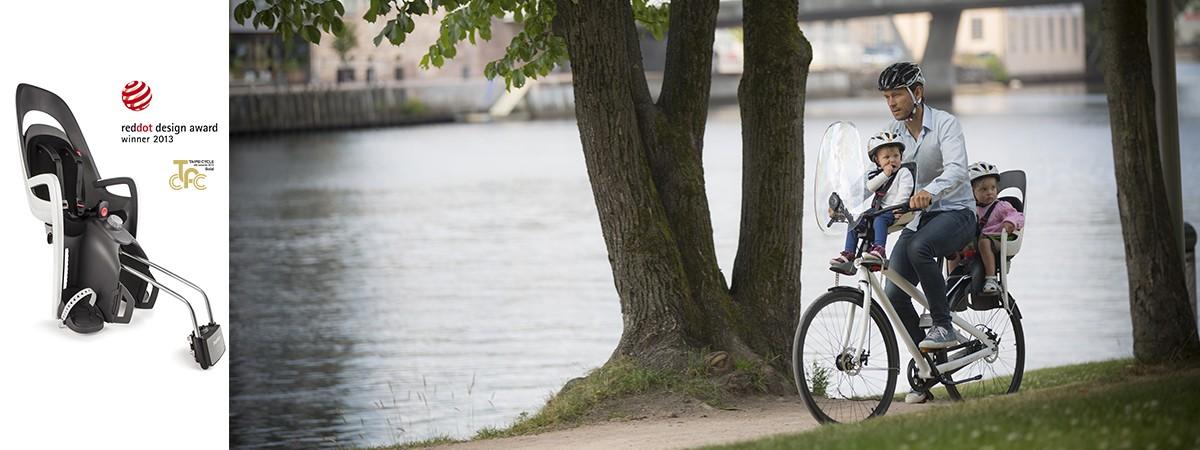 Hamax Caress child bike seat reddot award 2013