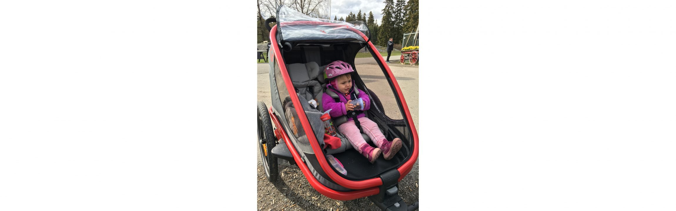 Hamax Outback bicycle trailer and stroller