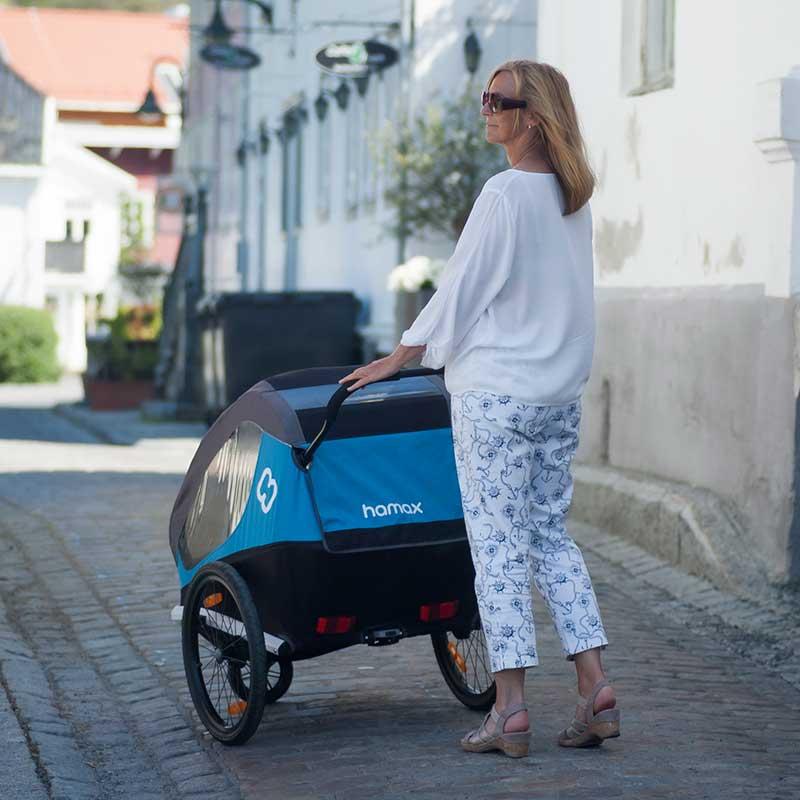 Hamax Traveller bike trailer for children